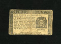 Colonial Notes:New York, New York March 5, 1776 $1/8 Very Fine. The center fold showsapproximate quarter inch splits at both extremities. Another qu...