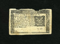 Colonial Notes:New York, New York March 5, 1776 $1/6 Extremely Fine. This is only the fourthapperance for this denomination from this issue in our i...