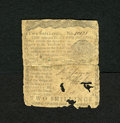 Colonial Notes:Pennsylvania, Pennsylvania March 10, 1769 2s Good. This backed piece has a fewapertures. This is also a scarce issue....