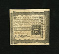 Colonial Notes:Pennsylvania, Pennsylvania April 3, 1772 2s Extremely Fine. Here is a delightfulColonial with a darkly printed face and three bold signat...