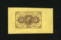 Fractional Currency:First Issue, Fr. 1231SP 5c First Issue Wide Margin Face Specimen Superb Gem New.Here is a rather unusual note in superlative grade. The ...