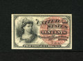 Fractional Currency:Fourth Issue, Fr. 1257 10c Fourth Issue Gem New. A crisp and fresh example of this lightly watermarked note that has radiant ink colors an...