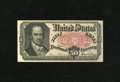 Fractional Currency:Fifth Issue, Fr. 1381 50c Fifth Issue Choice About New. A corner fold isnoticed....