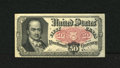 Fractional Currency:Fifth Issue, Fr. 1381 50c Fifth Issue About New. A single centerfold is all thatseparates this Crawford note from the New grade....
