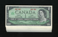 Canadian Currency: , BC-45a $1 1967 Fifty Examples. This grouping holds 50 examples ofthe Centennial issue with the 1867 1967 dates instead of a...(Total: 50 notes)