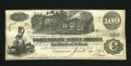 Confederate Notes:1862 Issues, T40 $100 1862. Original paper surfaces are found on this CrispUncirculated C-note....