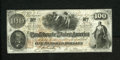 Confederate Notes:1862 Issues, T41 $100 1862. A pre-printing paper crinkle is spotted on thiscolorful Scroll 2 note. Choice About Uncirculated....