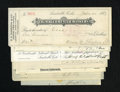 Obsoletes By State:Colorado, Colorado Checks.. These cut cancelled checks are from 1887 to 1909. Extremely Fine or better.. ... (Total: 7 items)