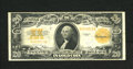 Large Size:Gold Certificates, Fr. 1187 $20 1922 Gold Certificate Fine-Very Fine. No pinholes here....