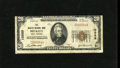 National Bank Notes:West Virginia, Beckley, WV - $20 1929 Ty. 1 The Beckley NB Ch. # 10589. Only threenotes in the Kelly census with this the first title ...