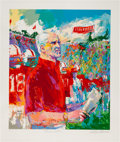 Football Collectibles:Others, 1993 Bill Walsh Signed LeRoy Neiman Serigraph - Numbered 1/200....
