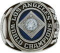 Baseball Collectibles:Others, 1959 Los Angeles Dodgers World Championship Ring Presented toBuzzie Bavasi....