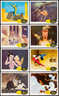 """Movie Posters:Animation, Fantasia (Buena Vista, R-1963). Lobby Card Set of 8 (11"""" X 14""""). Animation.. ... (Total: 8 Items)"""