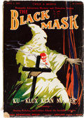Pulps:Detective, Black Mask V6#5 (Fictioneers Inc., 1923) Condition: VG-....