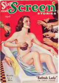 Pulps:Miscellaneous, Stage and Screen Stories - April '36 (Movie Digest, 1936) Condition: VG/FN....