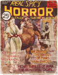 Pulps:Horror, Real Spicy Horror Tales #nn (Yale Record, 1937) Condition:GD/VG....