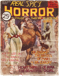 Real Spicy Horror Tales #nn (Yale Record, 1937) Condition: GD/VG
