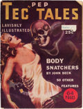 Pulps:Detective, Pep Tec Tales - October '37 (H. M. Publishing Co., 1937) Condition:VG....