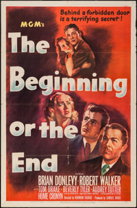 """The Beginning or the End (MGM, 1947). One Sheet (27"""" X 41""""). Drama"""