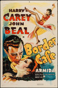 "Movie Posters:Western, Border Cafe (RKO, 1937). One Sheet (27"" X 41""). Western.. ..."