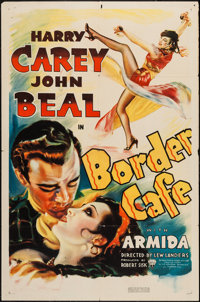 "Border Cafe (RKO, 1937). One Sheet (27"" X 41""). Western"