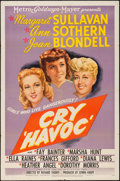 """Movie Posters:War, Cry Havoc (MGM, 1943). One Sheet (27"""" X 41""""). War.. ..."""