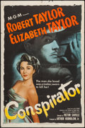 "Movie Posters:Adventure, Conspirator (MGM, 1949). One Sheet (27"" X 41""). Adventure.. ..."