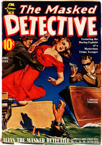 The Masked Detective V1#1 (Better Publications, 1940) Condition: FN/VF