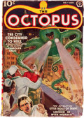 Pulps:Hero, The Octopus #1 (Popular, 1939) Condition: VG....