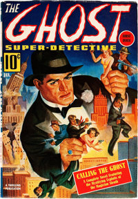 The Ghost - Super Detective V1#1 (Better Publications, 1940) Condition: FN/VF