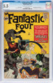 Fantastic Four #2 (Marvel, 1962) CGC FN- 5.5 Cream to off-white pages