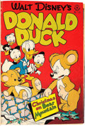 Golden Age (1938-1955):Miscellaneous, Four Color Disney-Themed Bound Volume (Dell, 1947-49)....