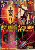 Pulps:Science Fiction, Astounding Stories Group (Street & Smith, 1931-43) Condition:Average VG+.... (Total: 27 Comic Books)