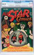 Golden Age (1938-1955):Superhero, All Star Comics #8 (DC, 1942) CGC VG+ 4.5 Cream to off-white pages....