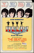 "Movie Posters:Rock and Roll, Help! (United Artists, 1965). One Sheet (27"" X 41""). Rock andRoll.. ..."