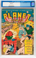 Golden Age (1938-1955):Science Fiction, Planet Comics #8 (Fiction House, 1940) CGC VF 8.0 Cream to off-white pages....