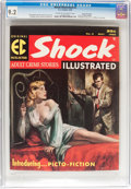 Magazines:Crime, Shock Illustrated #3 Gaines File Copy pedigree (EC, 1956) CGC NM-9.2 Cream to off-white pages....
