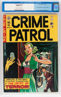 Golden Age (1938-1955):Crime, Crime Patrol #16 (EC, 1950) CGC VG/FN 5.0 Cream to off-white pages....