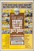 "Movie Posters:Documentary, Renfro Valley Barn Dance! (Seven Arts, 1966). One Sheet (27"" X 41""). Documentary.. ..."