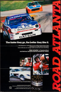 """Road Atlanta & Other Lot (New Visions, 1970s). Posters (2) (22"""" X 34"""" & 23"""" X 35""""). Sports..."""