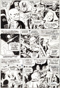 Original Comic Art:Panel Pages, Wally Wood Astonishing Tales #4 Red Skull Page 3 Original Art (Marvel, 1971)....