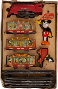 Memorabilia:Disney, Lionel Pre-War Mickey Mouse Circus Train Set #1536 (Lionel, 1935)....