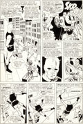 Original Comic Art:Panel Pages, Wally Wood Daredevil #6 Ox and Eel Page 2 Original Art(Marvel, 1965)....