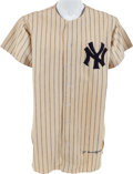Baseball Collectibles:Uniforms, 1950 Joe DiMaggio Game Worn New York Yankees Jersey....