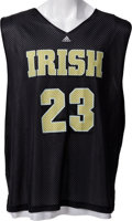 Basketball Collectibles:Uniforms, Circa 2002 LeBron James Practice Worn Saint Vincent Saint Mary'sHigh School Jersey - With Superb Provenance!...