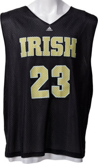 f80f4d3be80d Circa 2002 LeBron James Practice Worn Saint Vincent Saint Mary s High  School Jersey - With Superb