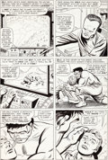 Original Comic Art:Panel Pages, Jack Kirby and Mike Esposito (as Mickey Demeo) Tales toAstonish #71 Hulk Page 5 Original Art (Marvel, 1965)....