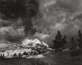 Photographs:20th Century, ANSEL ADAMS (American, 1902-1984). Echo Peaks, Clearing fromYosemite National Park, California, 1938. Gelatin silver, p...