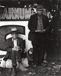 Photographs, WILLARD AMES VAN DYKE (American, 1906-1986). Migrant Workers, circa 1934. Gelatin silver. 9-3/8 x 7-1/2 inches (23.8 x 1...