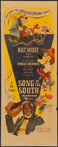 """Movie Posters:Animation, Song of the South (Buena Vista, R-1956). Insert (14"""" X 36""""). Animation.. ..."""